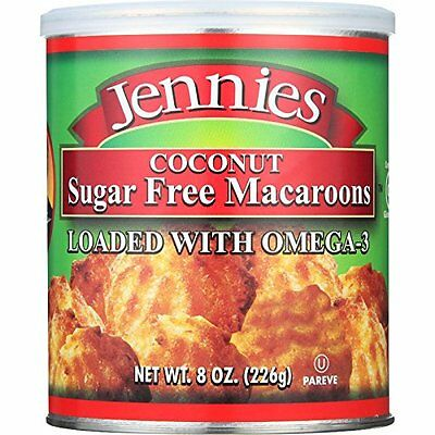 Jennies Sugar Free Coconut Macaroons, Low Carb, Low Fat, Gluten Free