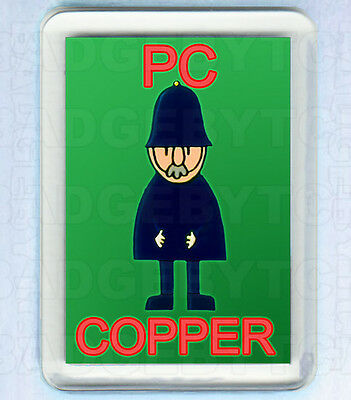 BOD's PC COPPER FRIDGE MAGNET - RETRO COOL!