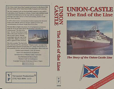 Union Castle The End Of The Line The History Of Union Castle- Vhs Video