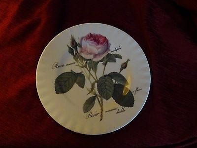 Redente Roses collectors plate by Roy Kirkham