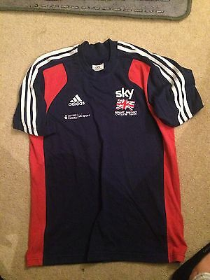 Excellent Condition Great Britain Cycling T-Shirt Size 36-38