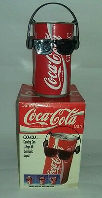Retro Vintage - Coca Cola - Coke - Dancing Can - Fully working+Box - Ideal Gift