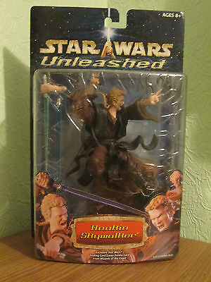 Star Wars Anakin Skywalker. Hasbro Unleashed 7 inch figure / model. New & Sealed