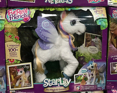 * Fur Real Friends Starlily My Magical Unicorn - Interactive Pet Fantasy Gift *
