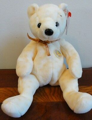 """Ty Beanie Babies Baby Of The Month Popcorn Bbom October 2003   Mwmt 8.5"""""""