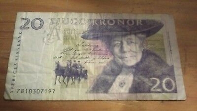 20 kronor discontinued note