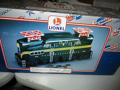 LIONEL COLLECTIBLE SAVINGS BANK By Enesco....