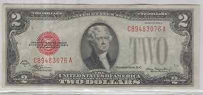Us Currency 1928-D $2-Bill