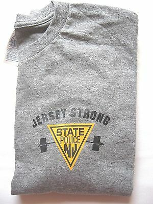 New Jersey State Police - Jersey Strong -  Long Sleeve - -Size - Large