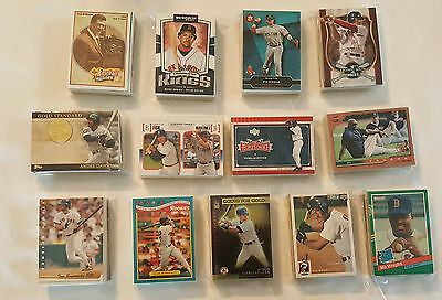 Lot of 40 Boston Red Sox Baseball Cards