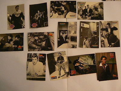 Lot of 20 Trading Cards - The Elvis Collection Wertheimer Collection