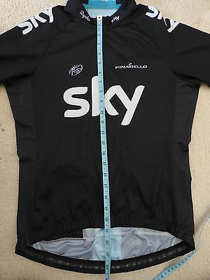 Sky cycling top-short sleeve jersey--small