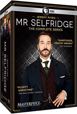 Masterpiece: Mr Selfridge - The Complete Series - 12 DISC SET (2016, DVD NEW)