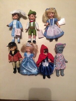 Assorted Madame Alexander Dolls Made For Mcdonald's Lot Of 7