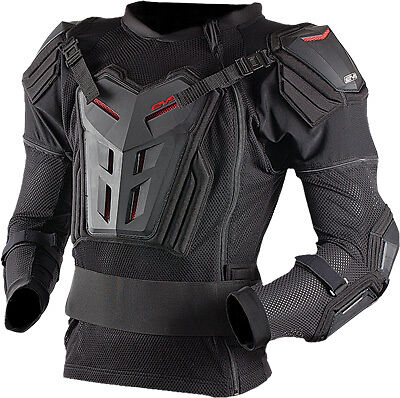 EVS Youth Comp Suit ATV Offroad Riding Full Torso Chest Elbow Protection Jersey