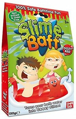 Slime Baff Bath Powder, Red 150 G