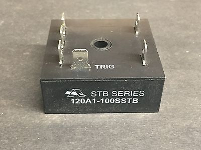 Amperite 120A1-100SSTB Time Delay Solid State Relay, Panel, 2 A
