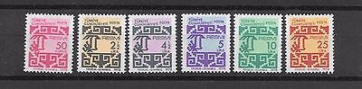 Turkey 1978 Revenue  Set  MNH **