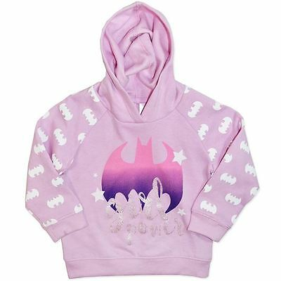 Batgirl - Girls - Hoodie - Jumper - New - Size 1 To 6