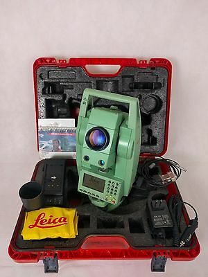 "Leica TCR702auto 2"" Motorized ATR Total Station, Ext. Range EDM, Reconditioned!"