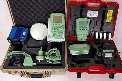 Leica Complete 1200 GPS/GLONASS Base + Rover RTK Kit, 30 Day Warn'ty, We Export!