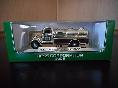 Hess Miniature Truck 2006 Chrome Edition Special Edition