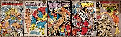 Lot of Don Simpson's Bizarre Heroes 3 4 5 6 8