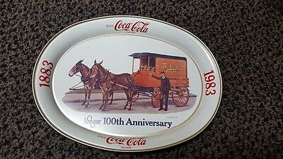 kroger 100th collector tray