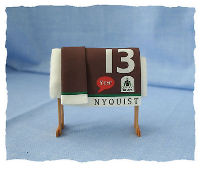 TOP LSQ Race Horse Saddle Cloth for model horses Breyer, Peter Stone, resin NEW
