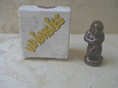 pottery Wade Whimsie brown gorilla from England