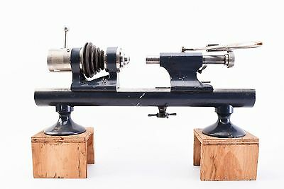 Vintage Watchmakers Lathe. Takes 10mm Tools. Complete with Tailstock (V3624)