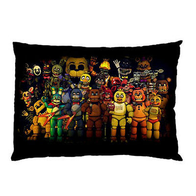 FIVE NIGHTS AT FREDDY'S FNAF characters Pillow Case Cover