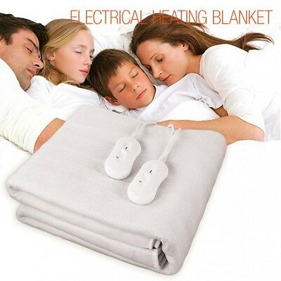 Manta Eléctrica Doble Electrical Heating Blanket 160 x 140 cm