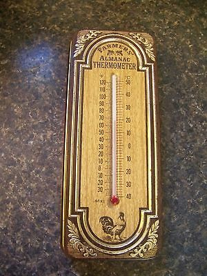 Vtg Avon Farmers Almanac Thermometer With Fragranced Soaps