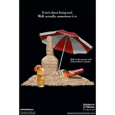 MAKERS MARK SUMMER  Poster Of 18 by 26