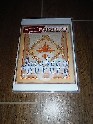"""""""Jacobean Journey"""" machine embroidery designs by Hoopsisters"""