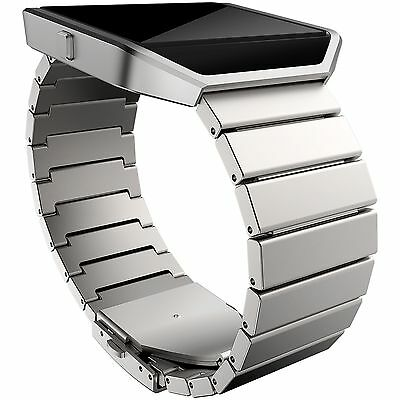Fitbit Blaze Metal Link Accessory Band - Silver -From the Argos Shop on ebay