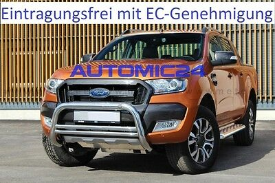 Brush Guards Bull Bars Bull Bar Shock Protector Ford Ranger Approval