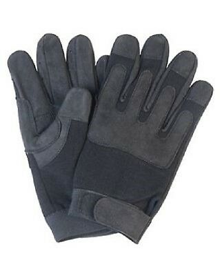 Army Swat Fingerhandschuhe Handschuhe US Gloves schwarz black M