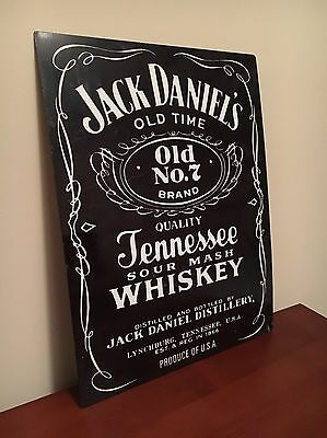 Jack Daniels Tennessee Whiskey Tin Sign