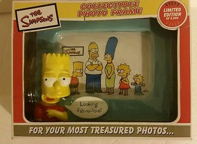NEW LIMITED EDITION The Simpsons COLLECTIBLE Photo Frame Bart Looking Fabulous