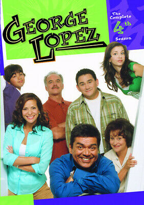 George Lopez Show: The Complete Fourth Season (2015, DVD NIEUW)3 DISC SET