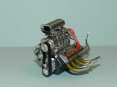 GMP/Acme 1/18 Blown 426 Dragster Engine and Transmission Great for dioramas