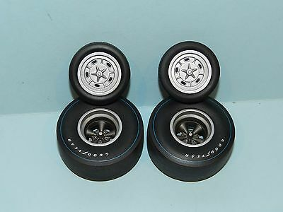 GMP/Acme 1/18 Dragster Wheel And Tyre Set Great for diorama/rebuilds