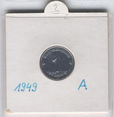 J Coins D92 Germany 1949 Value 1 Pfennig