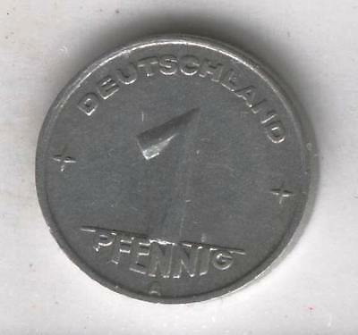 J Coins D61 Germany 1949 Value 1 Pfennig