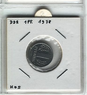J Coins E27 Germany 1978 Value 1 Pfennig