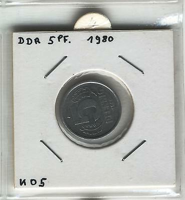 J Coins E44 Germany 1980 Value 5 Pfennig