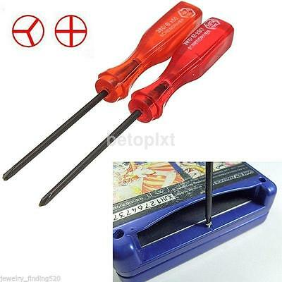 Tri-Wing & Cross Wing Screwdriver Repair Tool For Nintendo NDS DS Lite GBA Wii