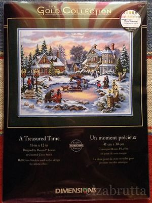 Dimensions Gold Collection 08569 Cross Stitch Kit A Treasured Time Punto Croce